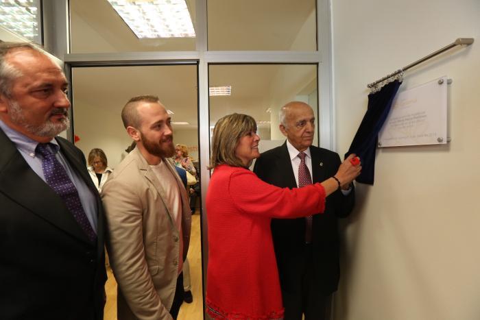 L'alcaldessa, Núria Marín inaugura el nou centre Gestímul de Collblanc